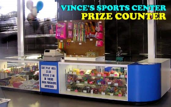 Arcade prizes