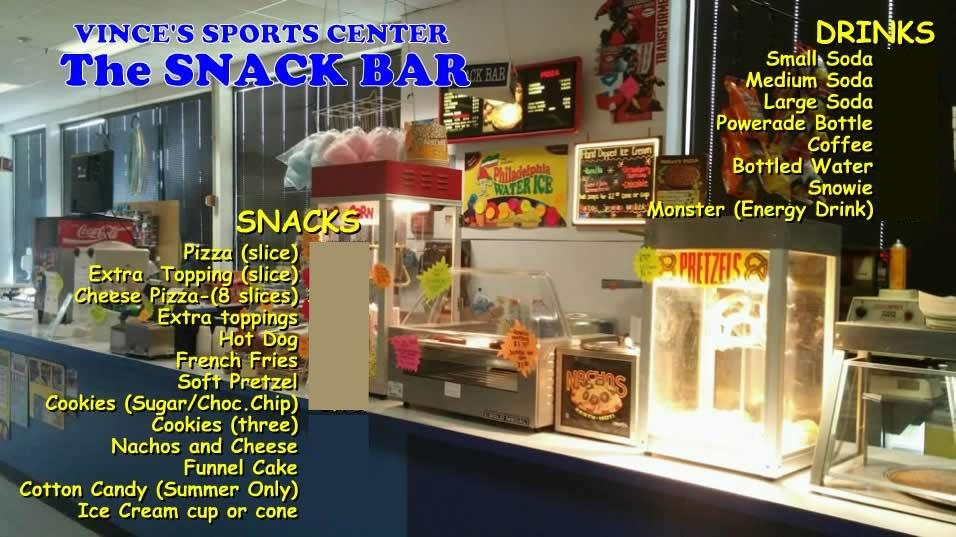 Snack Bar food