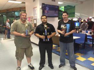 May 2014's Air Hockey Tournament Winners