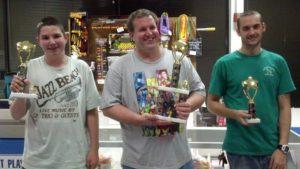 September 2013's Air Hockey Tournament Winners