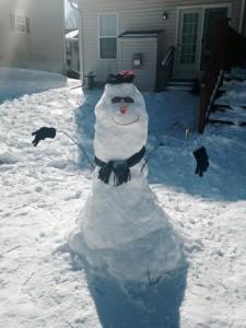 Snowman by Jeremy