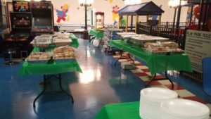 Party catering in Newark