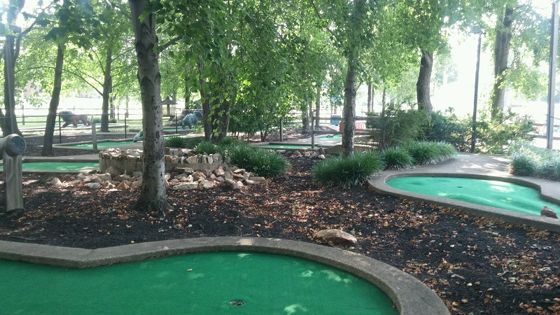 Miniature golf in Newark DE