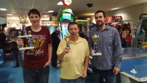 February 2015's Air Hockey Tournament Winners