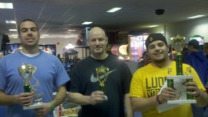 March 2012's Air Hockey Tournament Winners