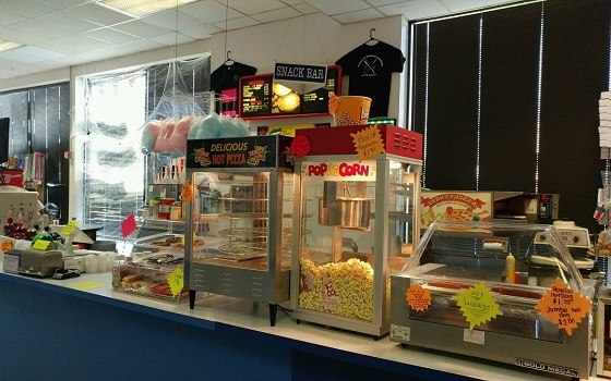 Snack bar in Newark DE