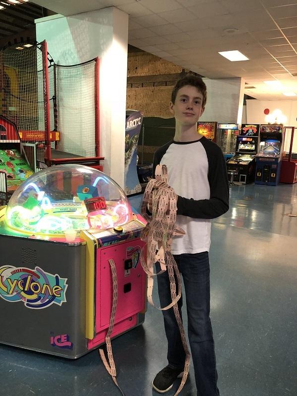 Arcade games and pinball machines
