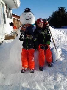 Snowman by Kelly