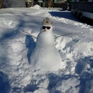 Snowman by Amanda