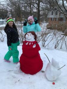 Snowman contest winner 2021!!